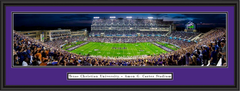 TCU Horned Frogs Football Amon Carter Stadium Framed Panoramic Picture