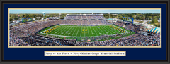 Navy Midshipmen Football Navy-Marine Corps Memorial Stadium Framed Panoramic Picture