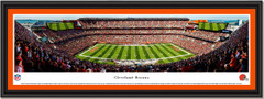 Cleveland Browns FirstEnergy Stadium Framed  Panoramic Picture