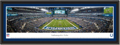 Indianapolis Colts Lucas Oil Stadium Framed Panoramic Picture
