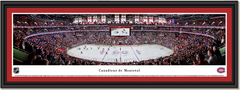 Montreal Canadiens Centre Bell Framed Panoramic Picture