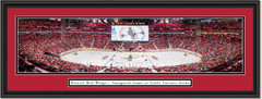 Detroit Red Wings Little Caesars Arena Framed Panoramic Picture