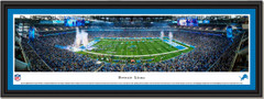 Detroit Lions Ford Field Framed Panoramic Picture