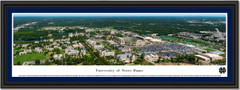 University of Notre Dame Fighting Irish Aerial Notre Dame Stadium Framed Panoramic Picture