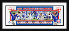 Chicago Cubs 2016 Photoramic Framed Photo Collage