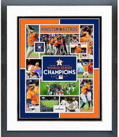 2017 World Series Houston Astros Framed Photo Collage