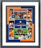 2017 World Series Houston Astros Framed Photo Collage