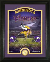 "Minnesota Vikings ""Stadium"" Bronze Coin Photo Mint"