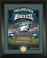 "Philadelphia Eagles ""Stadium"" Bronze Coin Photo Mint"