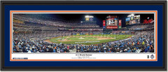 2015 World Series Game 3 NY Mets Framed Panoramic Picture Double Matted