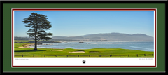 Pebble Beach Hole No. 18 Framed Picture