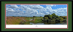 StreamSong Hole No. 16 Framed Picture