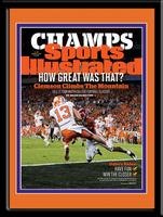 Champs: Clemson Climbs The Mountain - Framed Picture