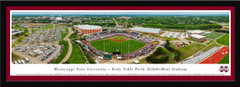 Mississippi State Bulldogs Baseball Dement Stadium Framed Panoramic Picture