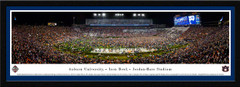 Auburn Tigers Football Iron Bowl Framed Panoramic Picture
