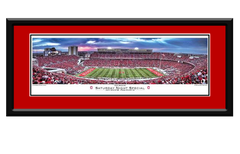 Ohio State Buckeyes Saturday Night Special Framed Panoramic