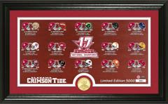 Alabama Crimson Tide 2017 CFP Championship Pano Photo Mint