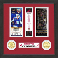 Alabama 2017 Football National Champions Ticket Collection
