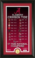 "Alabama Crimson Tide ""Legacy"" Bronze Coin Photo Mint"