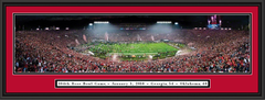 2018 ROSE BOWL Panoramic Picture - Georgia Bulldogs