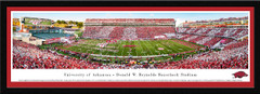 Arkansas Razorbacks Football Framed Panoramic Picture