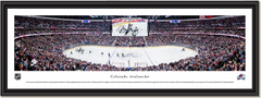 Colorado Avalanche Pepsi Center Framed Panoramic Picture