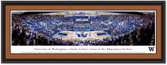 Washington Huskies Basketball Framed  Panoramic Picture