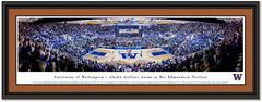 Washington Huskies Basketball Framed  Panoramic Picture