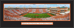 Oklahoma State Cowboys at Boone Pickens Stadium Framed Picture