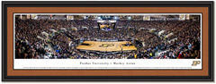 Purdue Boilermakers Basketball Framed Panorama