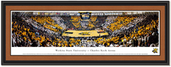 Wichita State Shockers Stripe-Out Basketball Framed Picture