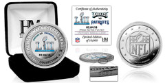 Philadelphia Eagles Super Bowl 52 Victory Silver Color Coin