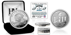 Philadelphia Eagles Super Bowl 52 Champions Pure Silver Mint Coin