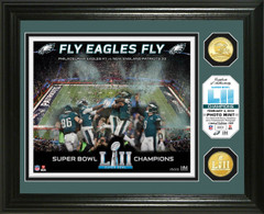 Philadelphia Eagles Super Bowl 52 Champions Celebration Bronze Coin Photo Mint