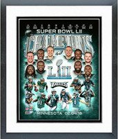 Eagles Super Bowl Champs Framed Composition