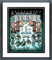 Eagles Super Bowl Champs Framed Composition