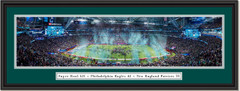2018 Super Bowl LII - PHILADELPHIA EAGLES Framed Panoramic Picture
