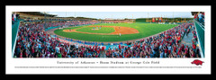 ARKANSAS RAZORBACKS PANORAMIC - BAUM STADIUM PICTURE