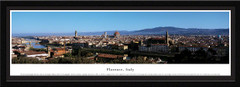 Florence Skyline Framed Picture