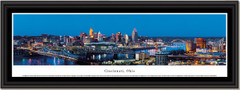 Cincinnatti Skyline Twilight Framed Picture