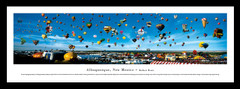 Albequerque Hot Air Balloon Festival Framed Picture
