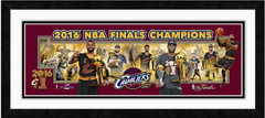 2016 NBA Champions Cleveland Cavs Photoramic Framed Photo Collage