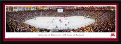 Minnesota Golden Gophers Hockey Mariucci Arena Framed Panoramic