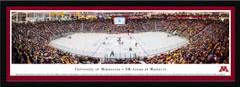 Minnesota Golden Gophers Hockey Mariucci Arena Framed Panoramic