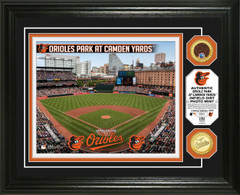 Baltimore Orioles Dirt Coin Photo Mint