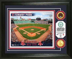 Boston Red Sox Dirt Coin Photo Mint