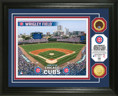 Chicago Cubs Dirt Coin Photo Mint