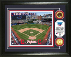 Cleveland Indians Dirt Coin Photo Mint