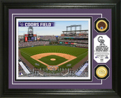 Colorado Rockies Dirt Coin Photo Mint