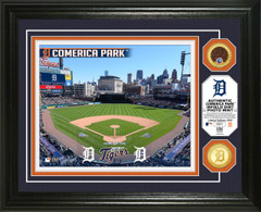 Detroit Tigers Dirt Coin Photo Mint